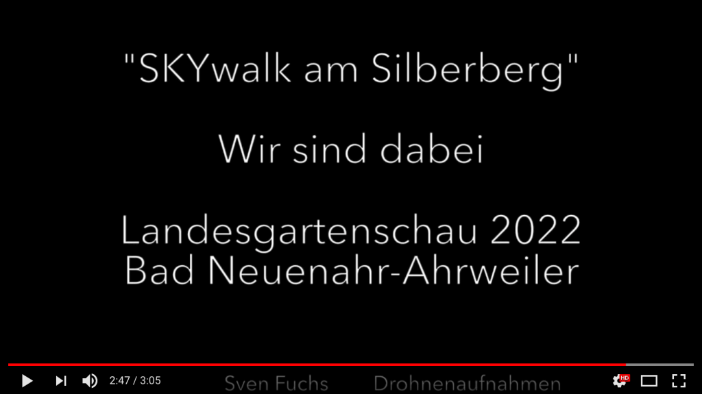 Gplanter Skywalk am Silberberg in Ahrweiler