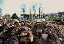 Kurgarten - nur noch ein Trümmerhaufen